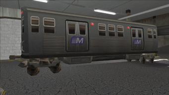 Saints Row variants - El Train - El Train Rear - rear right