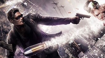 Johnny Gat in Saints Row The Third concept art