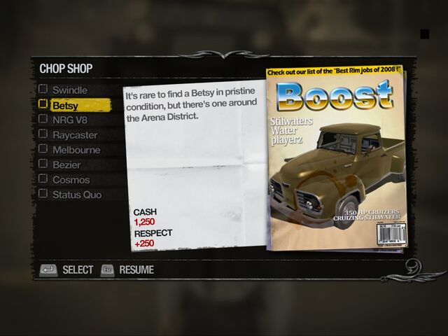 File:Betsy - Apartments Chop Shop list in Saints Row 2.jpg