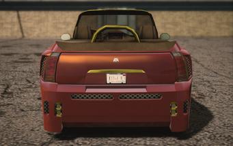Saints Row IV variants - Halberd Mascot - rear