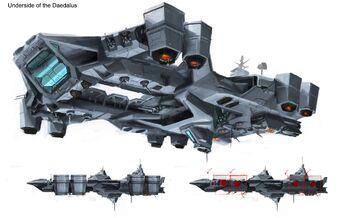Daedalus Underside Concept Art