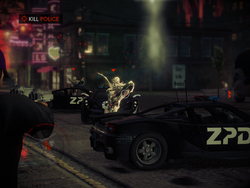 Hack the Planet - Police morphing into Zin