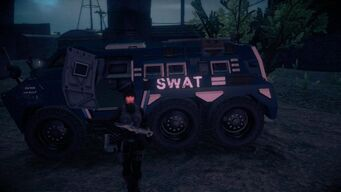 SWAT Bear in Saints Row IV