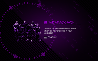 Saints Row IV DLC Unlock - Zinyak Attack Pack