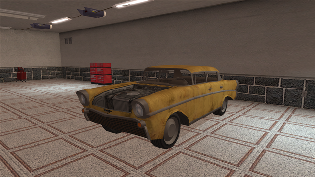 File:Saints Row variants - Hollywood - BeaterYellow1 - front left.png