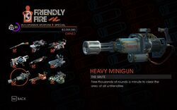 Heavy Minigun in Saints Row IV