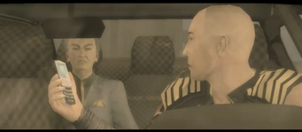 Jyunichi talking to Kazuo in his Zircon