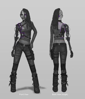 Future Shaundi Concept Art - 2 versions