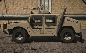 Saints Row IV variants - Bulldog turret average - left