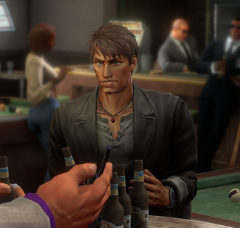 Josh Birk in the Broken Shillelagh in Saints Row IV