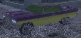 Compton - customised front left in Saints Row 2