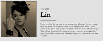 Lin obituary with dates