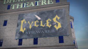 Cycles billboard in Sunsinger