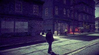 Virtual Stilwater in Saints Row IV - watch seller