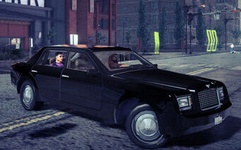 Justice - front right with passengers in Saints Row IV