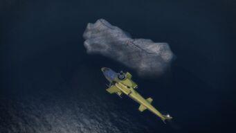 Bone Island from above