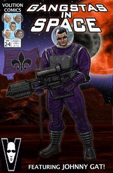 Gangstas in Space Cover