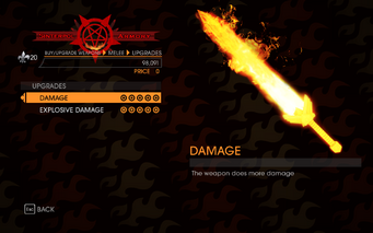 Gat out of Hell - 7 Deadly Weapons - Envy - Upgrades