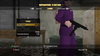 Saints Row Weapon Cache - SMG - T3K Urban