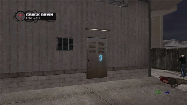 File:Crack Down - Cecil Park lab rear door.png