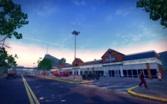 Sommerset in Saints Row 2 - strip mall