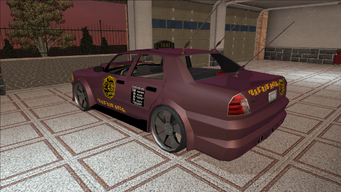 Saints Row variants - Taxi - BigWilly B - rear left