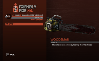 Woodsman - Level 1 description