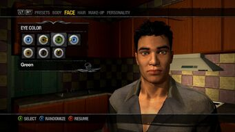 Character Customisation Saints Row 2
