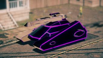 Recursor - Purple - front left