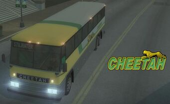Cheetah with logo in Saints Row 2
