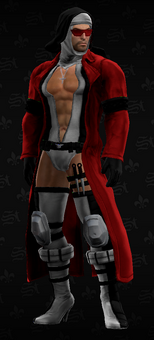 SRTT Outfit - Bloody Canoness (male)
