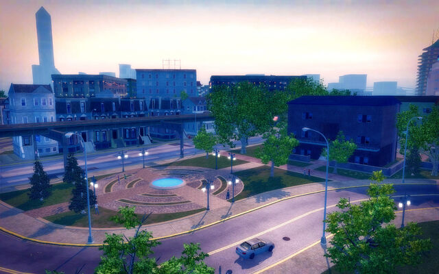 File:Sommerset in Saints Row 2 - view of small park.jpg