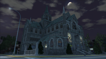 Saints Row loading screen - Saints Row Church