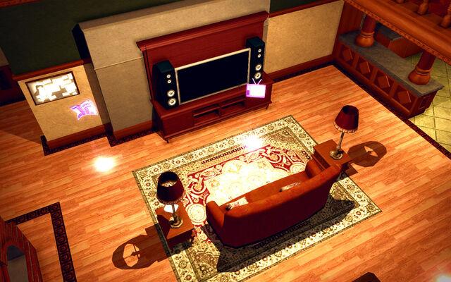 File:University Loft - Ultra Modern - TV.jpg