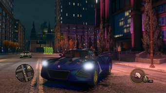 Temptress - front left with lights in Saints Row The Third