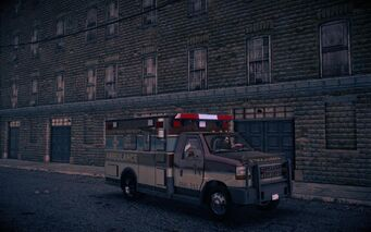 Ambulance - front right in Saints Row IV