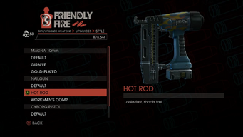 Weapon - SMGs - Rapid-Fire SMG - Nailgun - Hot Rod