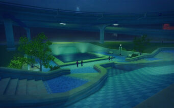 Wardill Airport in Saints Row 2 - pond