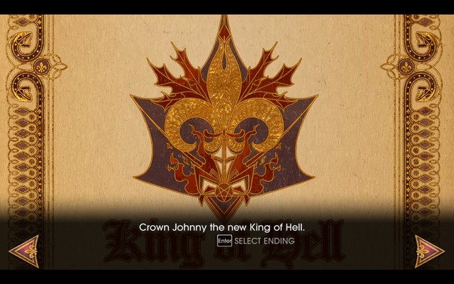 File:Gat out of Hell - Ending - Crown Johnny the new King of Hell.png