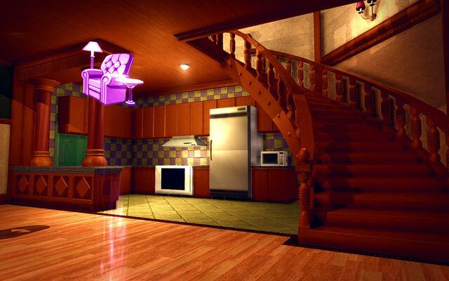 File:University Loft - Ultra Modern - kitchen.jpg