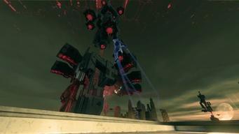 Saints Row IV Announce Teaser - space craft