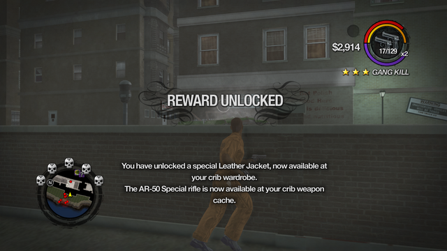 File:Combat Tricks - Avenger Jacket unlocked in Saints Row 2.png