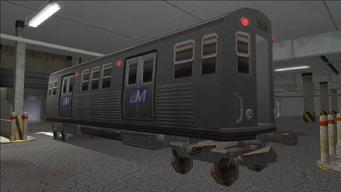 Saints Row variants - El Train - El Train Rear - rear left