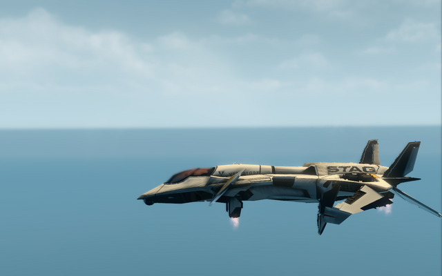 File:F-69 VTOL - hover mode - left in Saints Row The Third.png