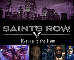 Saints Row V Return to the Row