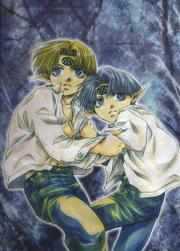 Kinkaku and Ginkaku Saiyuki 001