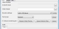 Encoding with MeGUI