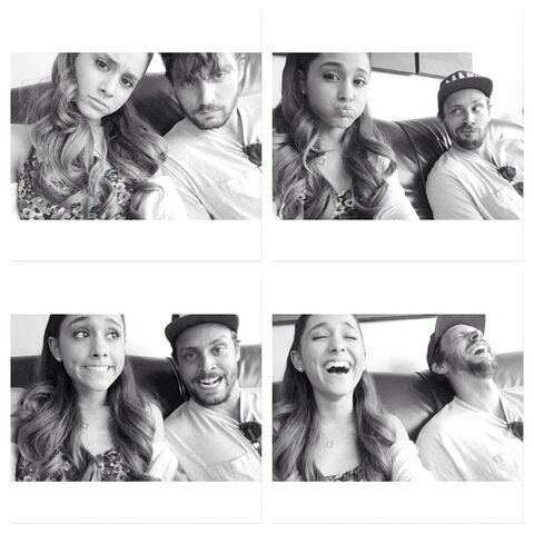 File:Ariana and Jones Crow July 21, 2013.jpg
