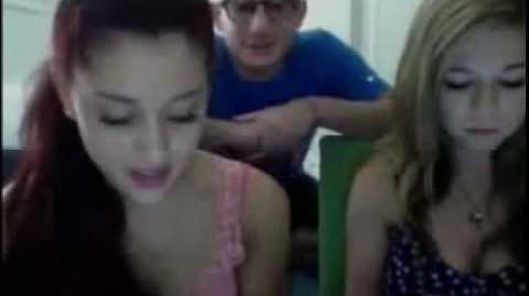 Ariana Grande Livestream 8-10-12 part 5