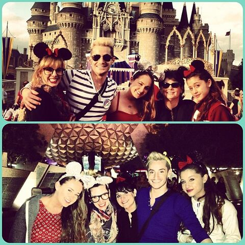 File:Ariana and her friends on Frankie's bday trip to Disney World.jpg